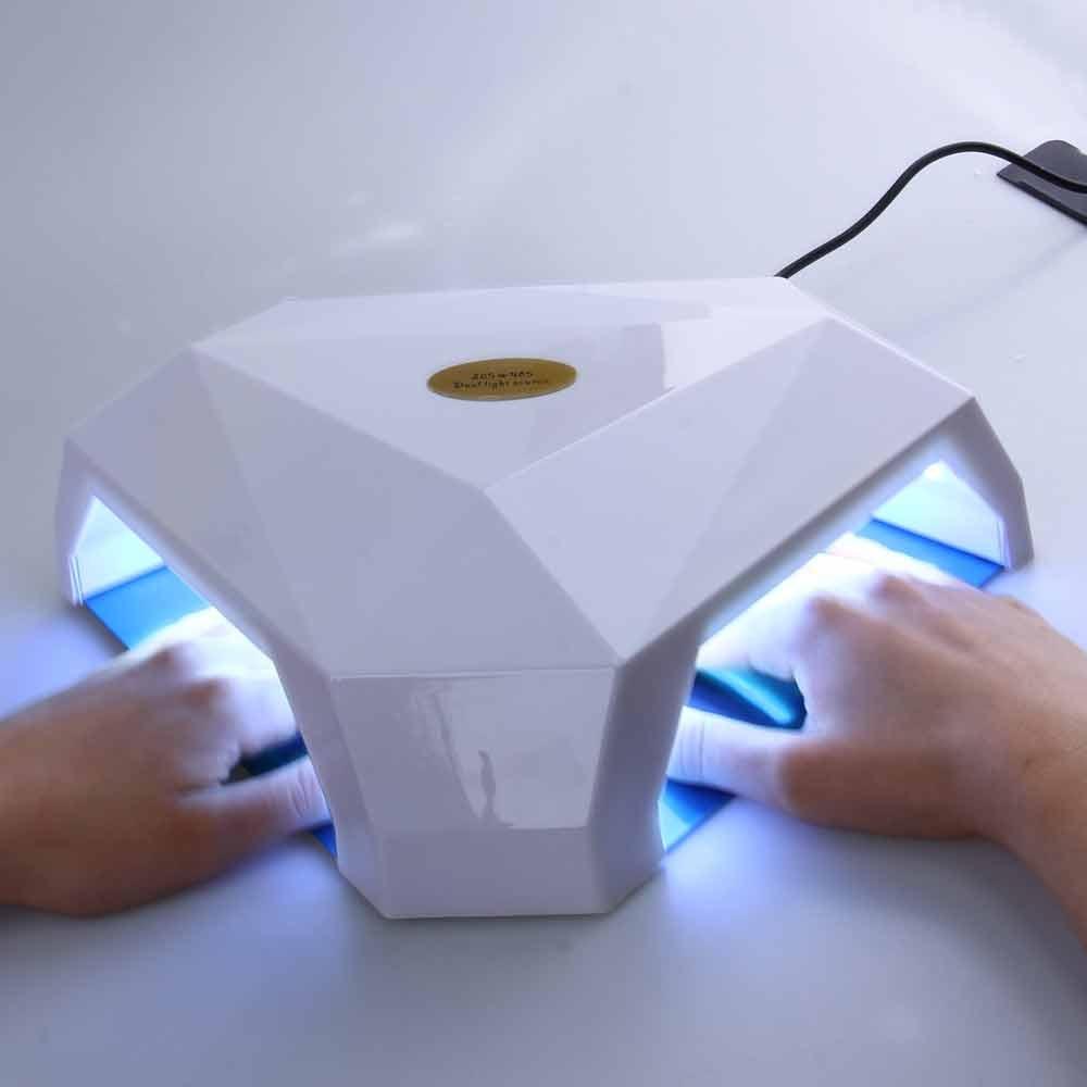 60W LED / UV UV LED Lamp Nail Dryer Manicure Tool