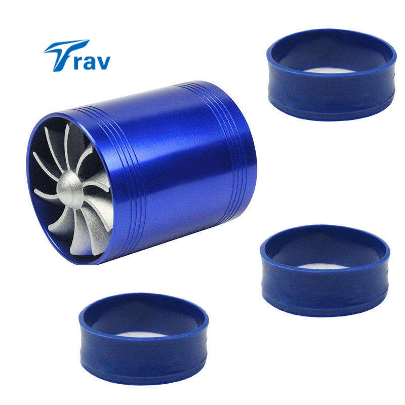 Universal Car Fuel Gas Saver Supercharger For Turbine Turbo Charger Air Intake Fan Turbocharger
