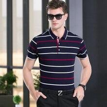 2017 mens designer social brand clothing short sleeve stripe polo shirt men wear poloshirt camisa masculina homme shirts 1270