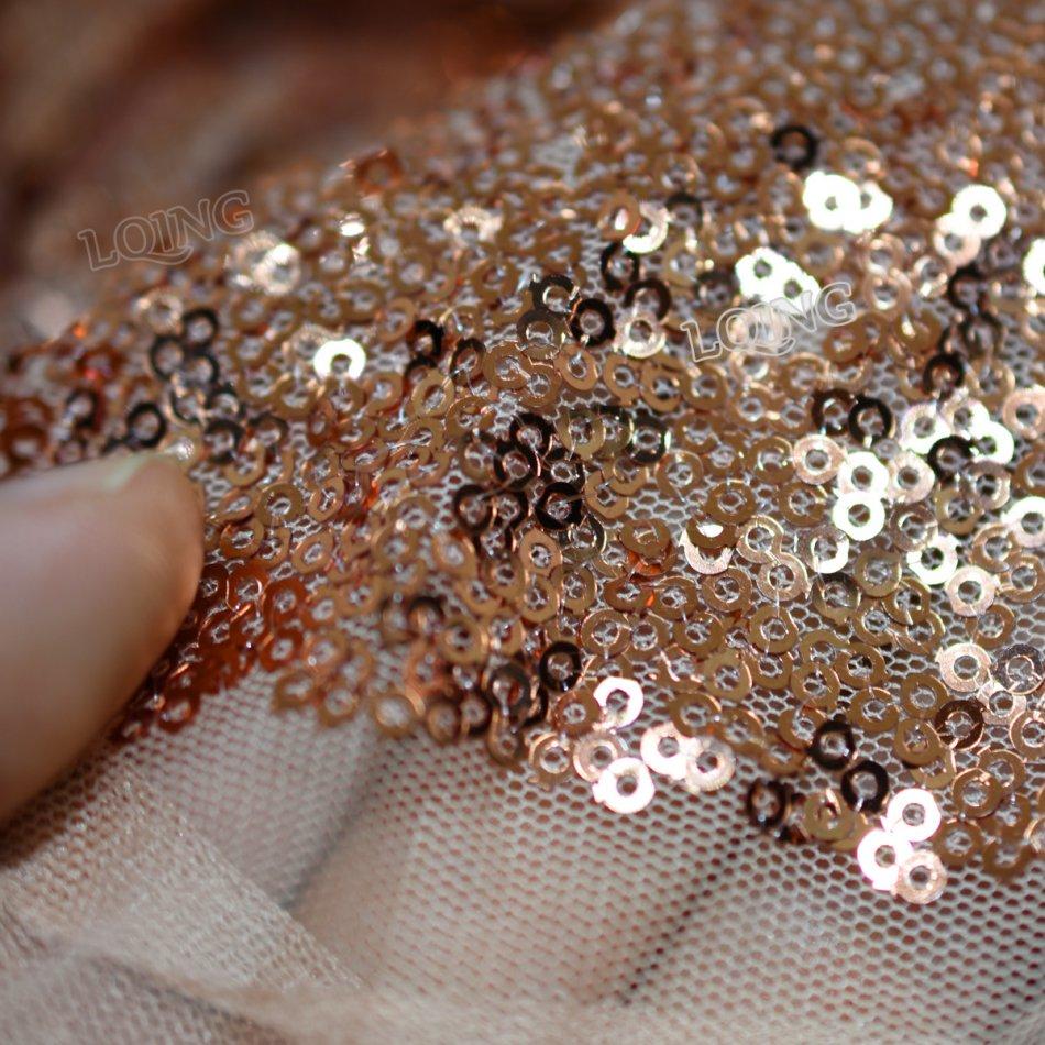 rose gold sequin fabric-10
