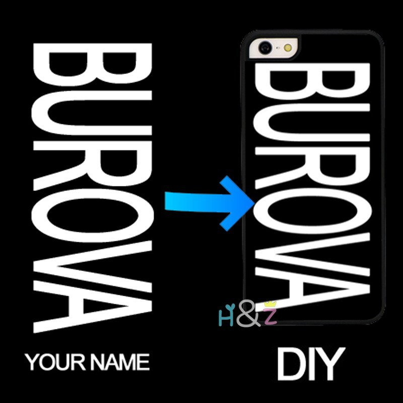 DIY Name inscription Text Black Background Letter or Photo Customized Soft Phone Case for iPhone 6s 6 plus 5c 5s 5 SE 4 4s Cover