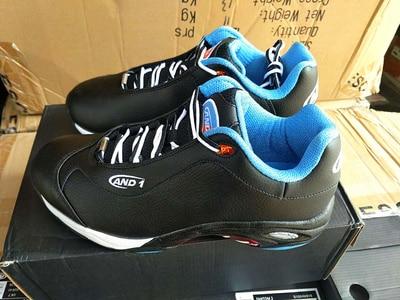 Hommes chaussures de basket-ball professionnelles AND1 baskets de basket-ball chaussures de sport pour hommes respirant antichoc chaussures de zoom athlétique