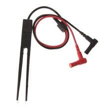 70 см SMD индуктор тестовый зажим зонд Пинцет для резистор мультиметр конденсатор