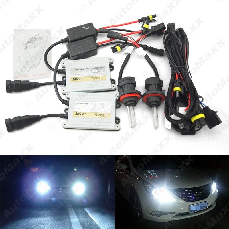 Car Headlight AC12V 55W H13 Xenon Bulb Hi/Lo Beam Bi-Xenon Bulb Light Slim Ballast HID Kit #J-4553