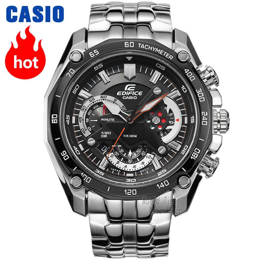 Reloj Casio Edifice reloj de los mejores hombres de la marca de lujo reloj de cuarzo Luminoso Cronógrafo Luminoso de los hombres reloj F1 elemento de carreras Deporte militar reloj relogio masculino erkek kol saati