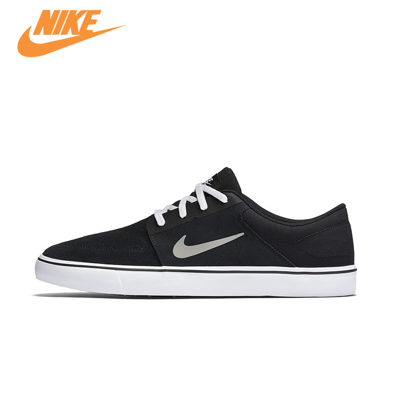 Original New Arrival Official NIKE SB PORTMORE Men's Breathable Skateboarding Shoes Sports Sneakers Trainers adidas original new arrival official neo women s knitted pants breathable elatstic waist sportswear bs4904
