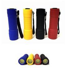 Powerful Mini Flashlight Battery Portable Waterproof COB Penlight Plastic Torch AAA  Inspection Camping Lamp