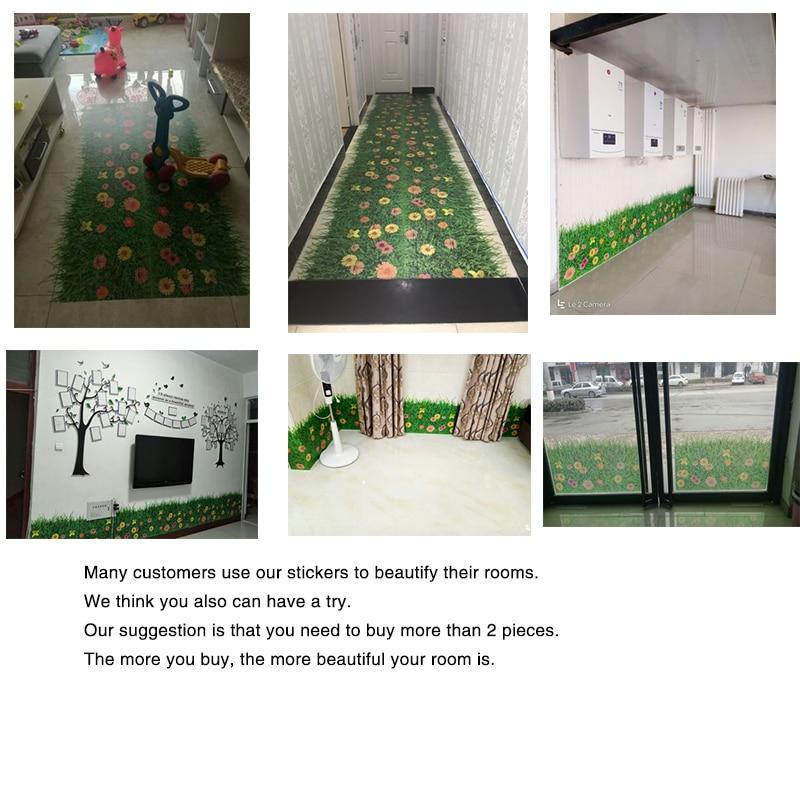[SHIJUEHEZI] Sticker për dyshekët e lëndinëve të luleve DIY - Dekor në shtëpi - Foto 6