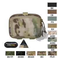 Emerson Tactical MOLLE Combat Multi purpose Admin Pouch EmersonGear Military Gear Map Multifunction Bag Hunting Pouch Multicam