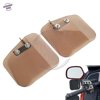 Smoke Motorcycle Accessories Deflector Mount Tint Mirror Wind Case For Honda Goldwing GL1800 F6B GL 1800
