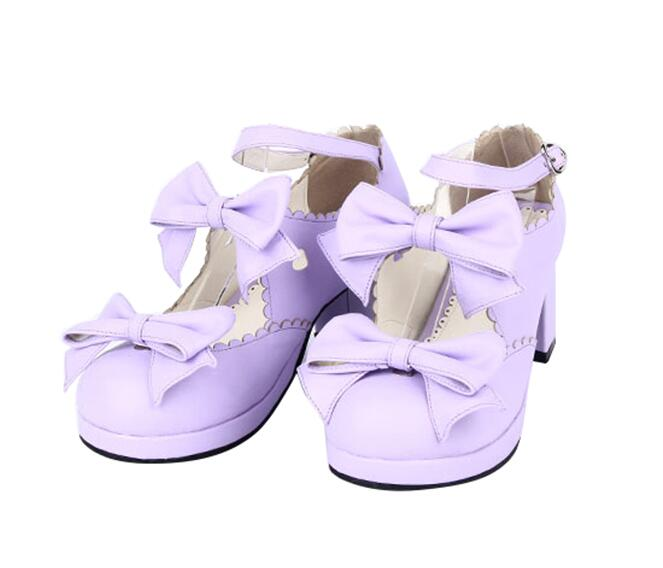 Princesa Mano Mujeres Hecho Partido 5cm Bombas Heel 47 Chica Impresión Mujer rosado Señora Mori 4 blanco blue Negro Tacones Cosplay Angelical Zapatos A Pl Altos brown púrpura Vestido Lolita 33 6AwAt5xZq
