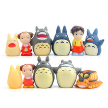 Cartoon Anime Totoro Finger Puppets For Kid Children Adult Finger Puppet Glove Safety Biting Toy Finger Puppet Potted Decoration(China)