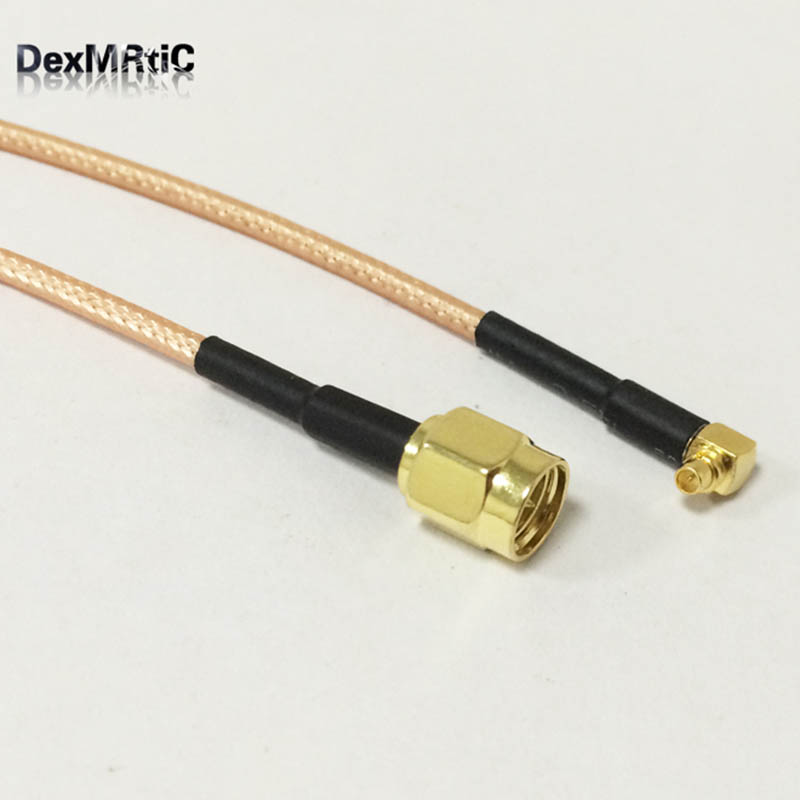 SMA Male Switch MMCX Male Right Angle Pigtail Cable RG316 15CM 6inch for wireless modem Wholesale price цена