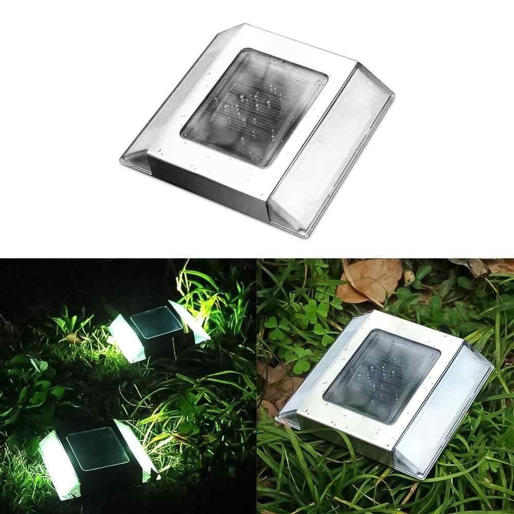 Kaigelin Солнечный Свет дорожный светильник водонепроницаемый светодиодный подземный свет открытый наземный Сад Путь пол 2 светодиодный подвесная солнечная батарея