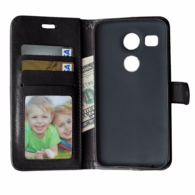 2015 Luxury Wallet PU Leather Back Cover Case For LG Nexus 5X H798 H790 H791 Google Nexus5X Case Flip Phone Protective Bag Skin (7)