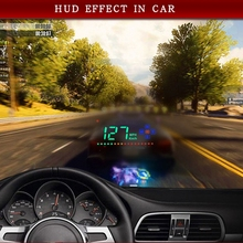 Fit for All Car Speed Projector GPS Digital Car Speedometer Electronics Head Up Display Auto A2 HUD Windshield Projector