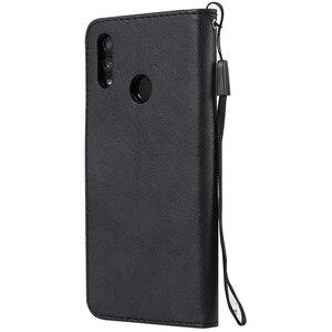 Чехол для телефонов Huawei, кожаный чехол-книжка для Huawei Honor 10 Lite, Huawei P Smart 2019, с отделениями для карточек