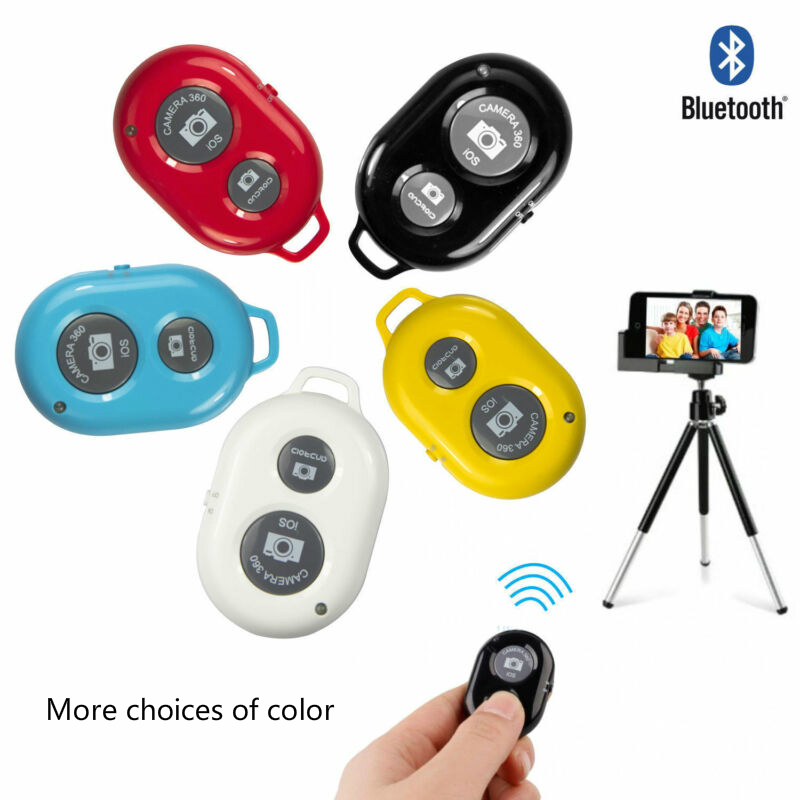 Wireless Bluetooth Selfie Stick Remote Controller Shutter Release Button For Phone Self-timer For Huawei Xiaomi IPhone Samsung