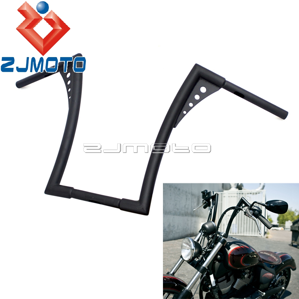 Motorcycle el Diablo Handlebar 16 Rise Ape Hanger Bar For Harley Custom Sportster Softail Dyna Wide