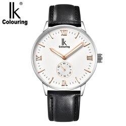 Świecenia osobowości przez dno męska modny zegarek automatyczny zegarek mechaniczny męskie ultra-cienki zegarek mechaniczny