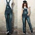 Fashion Womens Jumpsuit 0veralls Spaghetti Strap Body Pants Street Style Denim Bib Women Lady Jeans Rompers pantalon femme 25-29