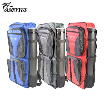1set Archery Takedown Recurve Bow Bag Backpack With Arrow Tube Holder Arrow Bow Hunting Accessories