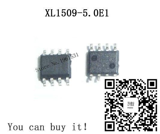 XL1509-5.0E1 СОП XL1509-5.0 SOP8 XL1509-5 XL1509 SMD 10 шт./лот новое и оригинальное