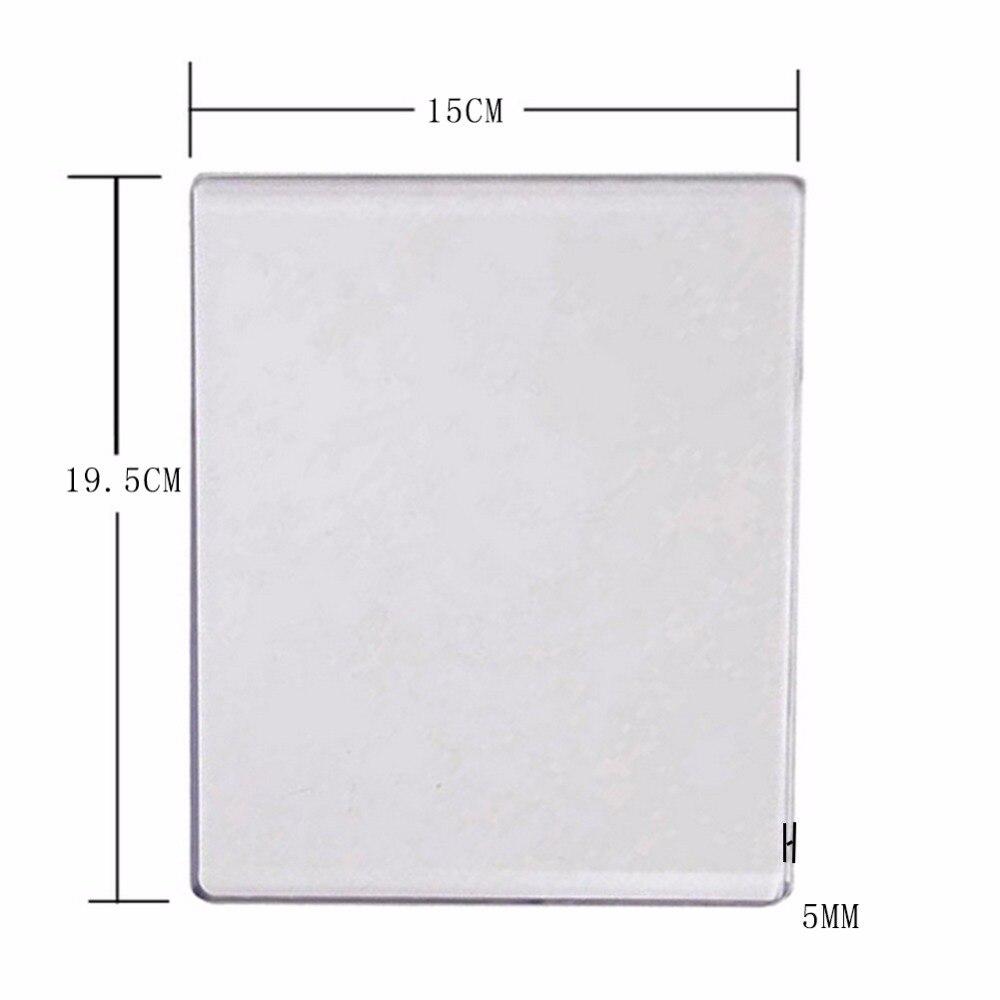 15X19,5 cm 3mm/5mm Acryl Schneiden Maschine Platte New Cut Maschine Ersatz Platten Dicke Nur verkaufen Platte Ohne Maschine