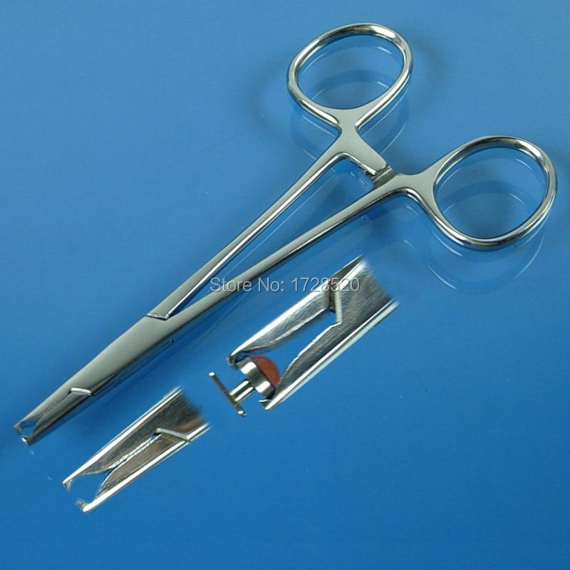 1Pcs Stainless Steel Diamond Style Dermal Anchor Hemostat Piercing Tools Body Piercing Tool Hot Selling