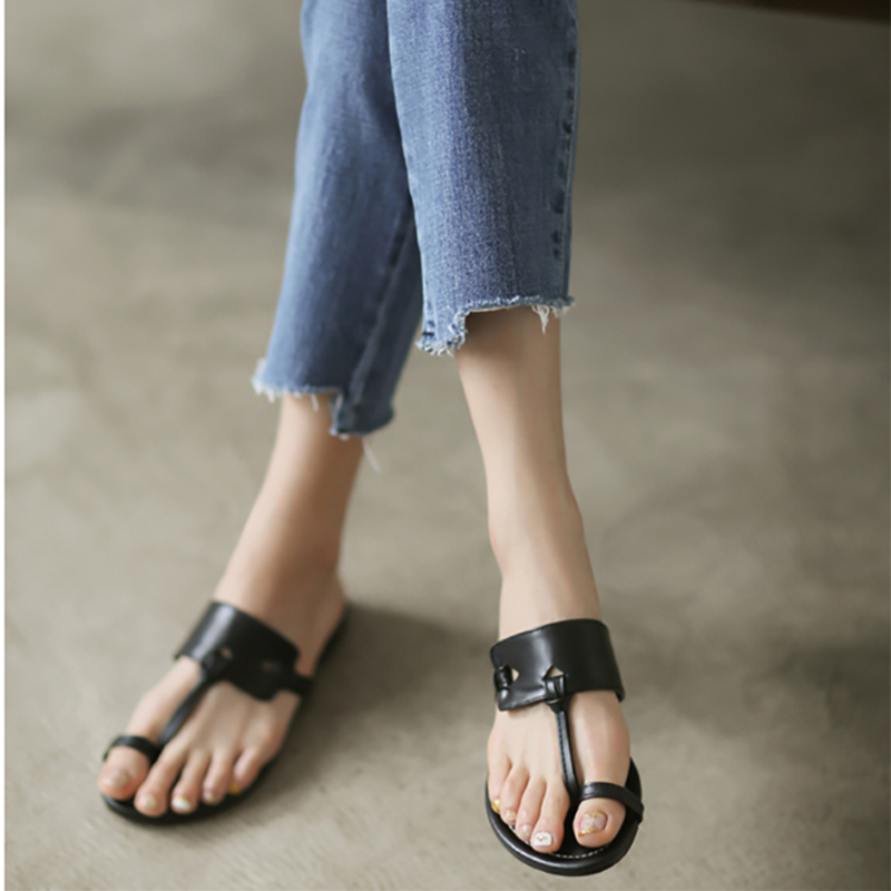 IAHEAD shoes woman summer flip flops fashion Solid PU sliders shoes slides flat shoes women beach shoes chanclas mujer abc instantarts women flats emoji face smile pattern summer air mesh beach flat shoes for youth girls mujer casual light sneakers