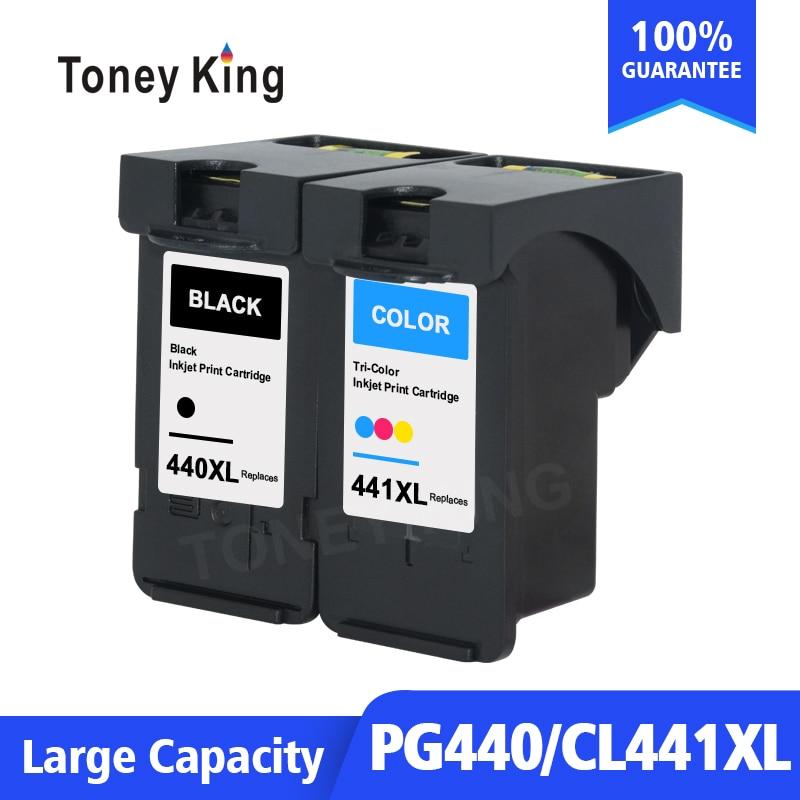 Toney King 440XL For Canon PIXMA MG3240 MG3540 MG4240 MG3640 Printer Ink Cartridge PG440 PG 440 PG-440XL CL441 CL-441