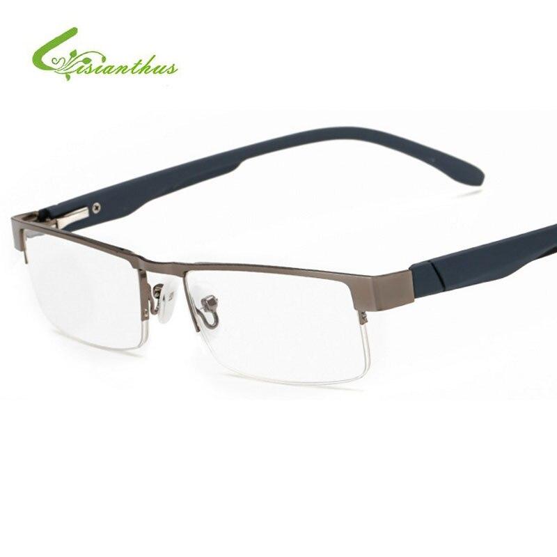 2018 Mens Quadratischen Presbyopie Brille Klare Unisex brenn ...