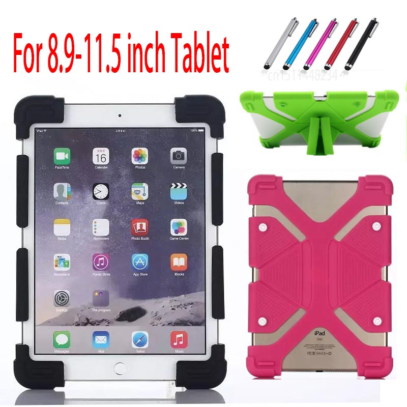 Universal Silicon Case For Apple iPad 2 3 4 5 6 ipad Air 1 2 IPAD Pro 9.7 2017 2018 New Tablet Shockproof stand protection Cover