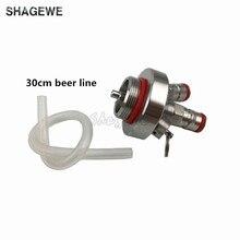 304 Stainless Steel Mini Keg Tap Dispenser with 12'' beer hose for Mini Craft Beer Keg Growler Homebrew Spear 2L/3.6L/5L/10L стоимость