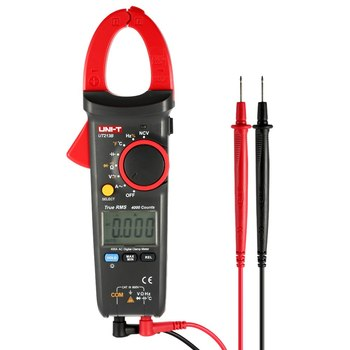 Digital Clamp Meter Multi-Multimeter AC/DC Current Tongs Voltage Resistance Capacitance Diode Continuity NCV Temperature Tester