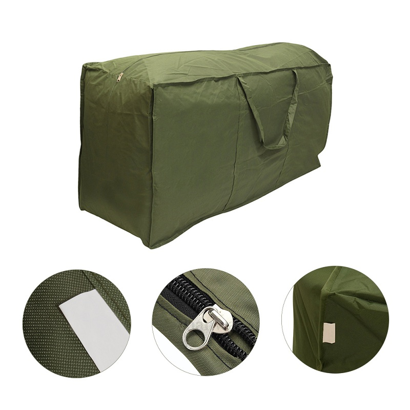 1PCS Outdoor Patio Furniture Chaise Protect Cover High Quality Storage Bag  Christmas Tree Storage Cushion Three