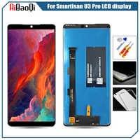 Smartisan ため U3 プロ建国プロ 2 ディスプレイタッチスクリーンデジタイザフレーム SO105 SO103 ディスプレイ液晶修理