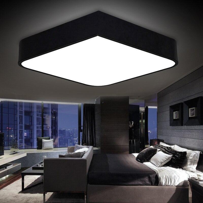 2016 luz de teto moderno luzes led para sala de estar for Lampara focos techo