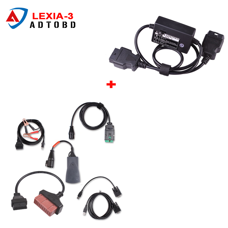 Lexia3 for Peugeot Diagnostic Tool lexia 3 PP2000 diagbox V7.65 software V48 Car scanner with PSA 30pin+S1279 Modul