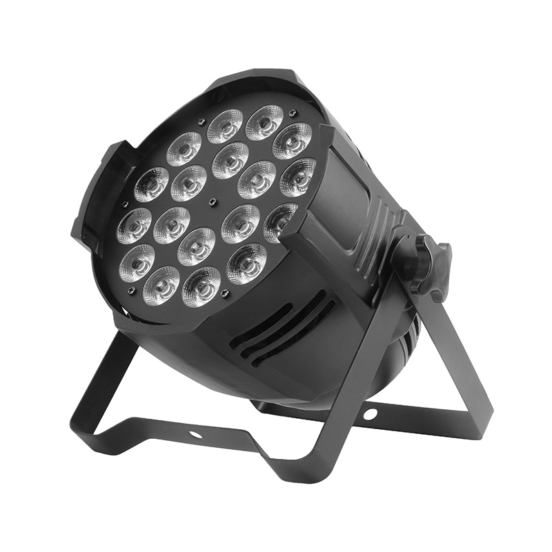 Aluminum Alloy New LED Par 18x15W 5in1 RGBWA Light DMX Stage Lights Can for Party KTV Disco DJ Business Lights aifeng 48v power supply 5a 240w ac 110v 220v to dc 48v 5a 240w switching power supply for led light motor monitor transformer