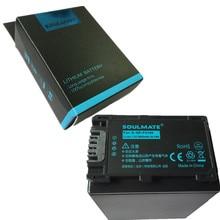 ALMA GÊMEA pacote de baterias de lítio NPFV100 NP-FV100 FV100 NP Para SONY FDR-AX100E AX100E XR550E XR350E CX550E CX350E HDR