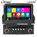 double din car dvd Radio gps for peugeot 307 2007- multimedia Bluetooth Steering Wheel Control Reversing Camera FREE SD map card