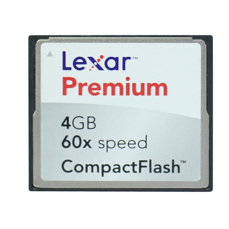 Original!!! Lexar 4GB Premium Compact Card 60x Speed 4G CF Memory Card|Memory Cards| |  - title=
