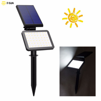 48 Leds Outdoor Lighting Solar Spotlight LED Light Solar Lamp IP44 Waterproof Landscape Wall Light Adjustable