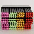 DIY Cute Kawaii Black Wood Pencil HB Acrylic Diamond Standard Pencil For Drawing Painting Supplies 12pcs/Lot