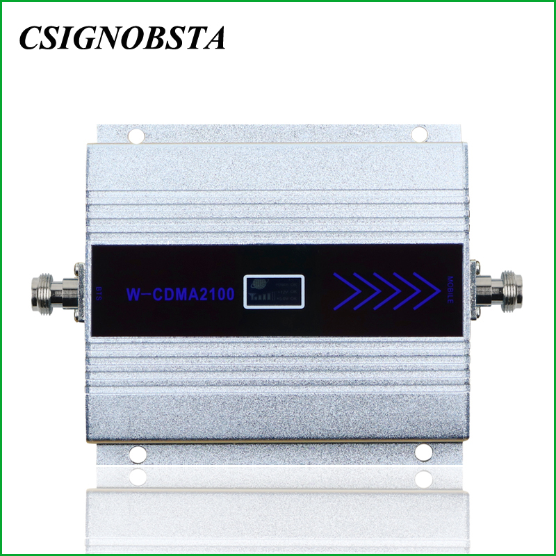 2018 New LCD Display Cell Phone 3G WCDMA 2100MHZ UMTS Signal Repeater Booster Amplifier For Russian Federation Using Wholesale
