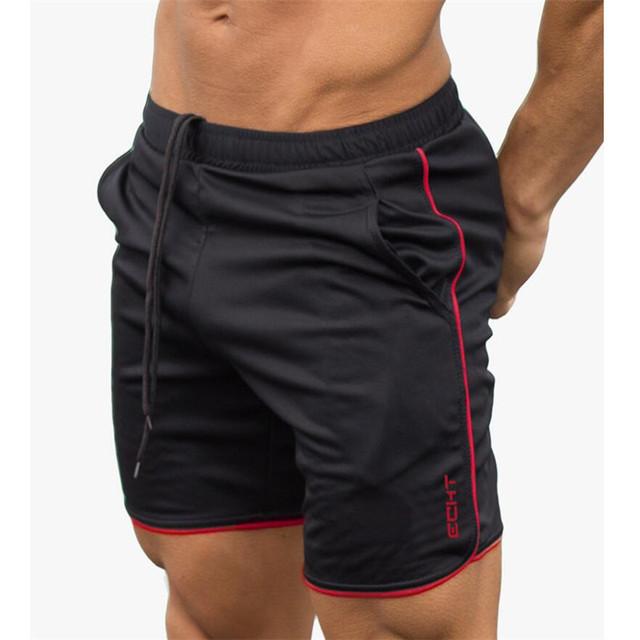 New Gyms Sporting Shorts men bermuda Men's Short homme 4 Models Casual brand clothing Letter Elastic Waist Gyms Shorts