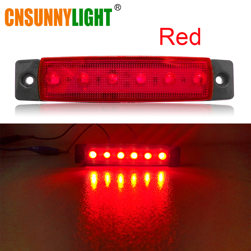 CNSUNNYLIGHT Car LED Bus Clearance Lamp Tail Reverse Light Turn Signal Truck Trailer Lorry UTE Caravan Rear Warning Lighting Bar (4)
