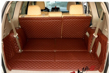 Недавно! специальная магистральных коврики для Toyota Land Cruiser Prado 150 7 2016 мест коврик багажника boot ковры для Prado 2015-2010, Бесплатная доставка