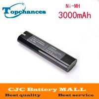 9.6 V 3000 mAh Oplaadbare Batterij Vervanging Power Tools Batterij voor Makita Mak 9000 9001 9002 9033 9034 632007 4 Ni CD 3.0Ah-in Vervangende batterijen van Consumentenelektronica op